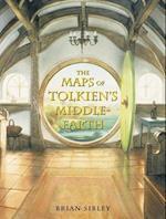 The Maps of Tolkien's Middle-earth af John Howe, J R R Tolkien, Brian Sibley