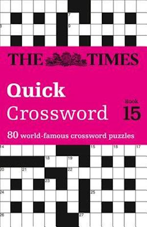 The Times Quick Crossword Book 15 af The Times Mind Games