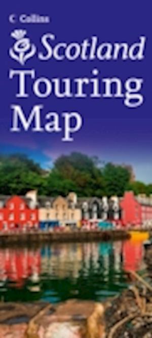 Collins Scotland Touring Map af Collins Uk