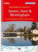 Severn, Avon & Birmingham No. 2 af Collins Maps