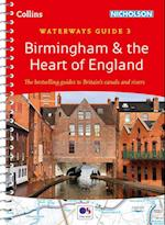 Birmingham & the Heart of England No. 3 af Collins Maps