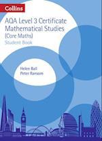 Level 3 Mathematical Studies Student Book (AQA Core Maths)