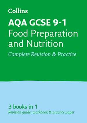 Bog, paperback AQA GCSE Food Preparation and Nutrition All-in-One Revision and Practice af Collins Uk