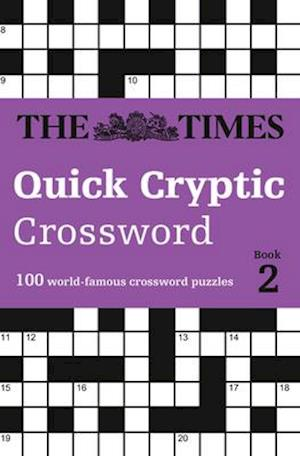 Bog, paperback The Times Quick Cryptic Crossword Book 2 af The Times Mind Games