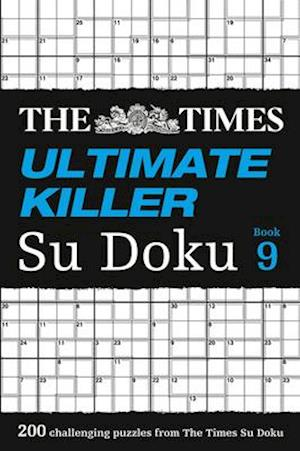 Bog, paperback The Times Ultimate Killer Su Doku Book 9 af The Times Mind Games
