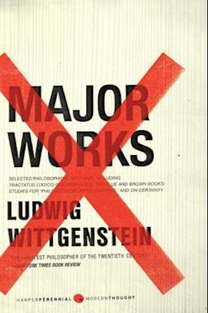 Major Works af Ludwig Wittgenstein