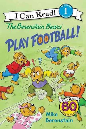 Bog, hardback The Berenstain Bears Play Football! af Mike Berenstain