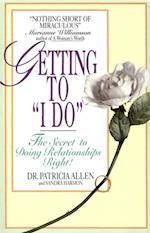 Getting To 'I Do' af Pat Allen