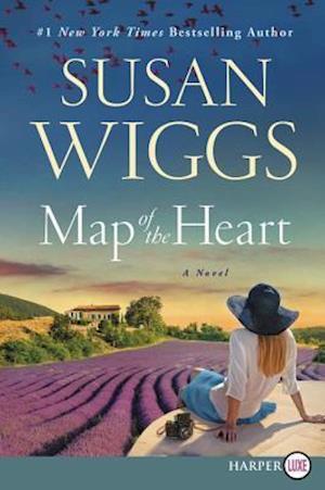 Bog, paperback Map of the Heart af Susan Wiggs