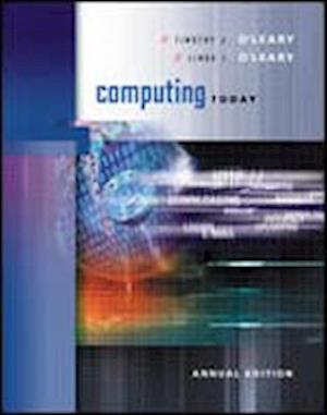 Bog, paperback Computing Today af Linda I O leary, Timothy J O Leary