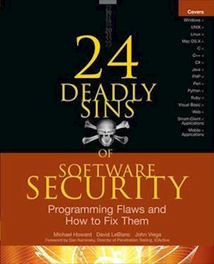 24 Deadly Sins of Software Security af John Viega, Michael Howard, David Leblanc