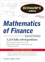 Schaum's Outline of Mathematics of Finance af Petr Zima, Robert Brown