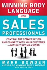Winning Body Language for Sales Professionals