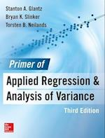 Primer of Applied Regression & Analysis of Variance af Stanton A. Glantz