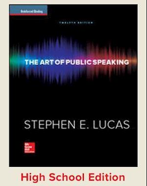 Student Edition, the Art of Public Speaking Reinforced Binding af Stephen Lucas