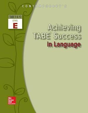 Bog, paperback Achieving TABE Success in Language, Level E af McGraw-Hill Education