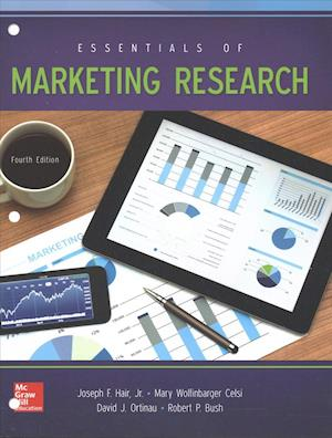 Bog, paperback Essentials of Marketing Research af J. Hair