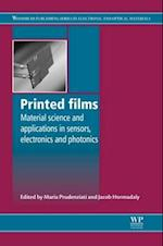 Printed Films (Woodhead Publishing Series in Electronic and Optical Materials)