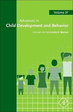 Bog, hardback Advances in Child Development and Behavior af Janette B. Benson