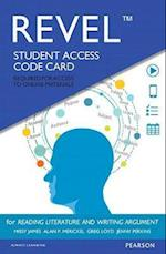 Revel for Reading Literature and Writing Argument Access Card