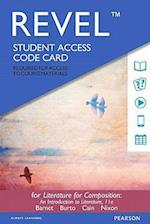 Revel for Literature for Composition Access Card 11th Ed.