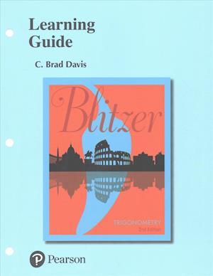 Bog, løsblade Learning Guide for Trigonometry af Robert F. Blitzer