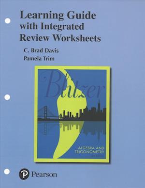 Bog, løsblade Learning Guide for Algebra and Trigonometry af Robert F. Blitzer