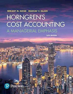 Bog, hardback Horngren's Cost Accounting af Charles T. Horngren