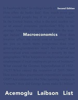 Bog, paperback Macroeconomics af Daron Acemoglu