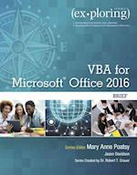 Exploring Vba for Microsoft Office 2016 Brief (Exploring for Office 2016)
