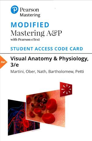 Bog, hardback Modified Masteringa&p with Pearson Etext -- Standalone Access Card -- For Visual Anatomy & Physiology af William C. Ober, Frederic H. Martini, Judi L. Nath