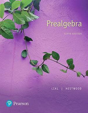 Bog, paperback Prealgebra af Margaret L. Lial