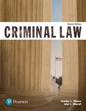 Bog, paperback Criminal Law (Justice Series) af Jennifer Moore