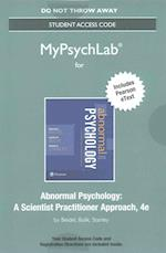 New Mypsychlab with Pearson Etext -- Standalone Access Card -- For Abnormal Psychology