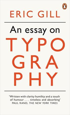 An Essay on Typography af Eric Gill