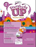 Everybody Up 1 Teachers Book with DVD & Online Practice Pack