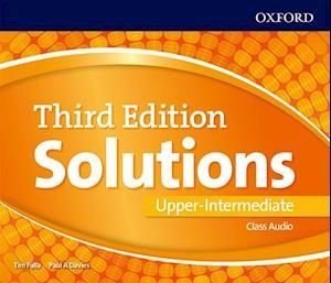 Lydbog, CD Solutions Upper-Intermediate Class