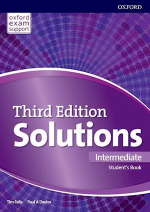 Bog, paperback Solutions Intermediate Students Book