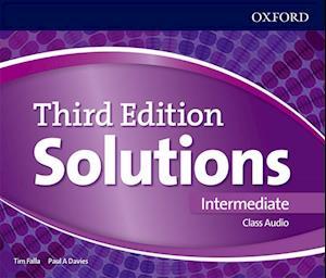 Lydbog, CD Solutions Intermediate Class