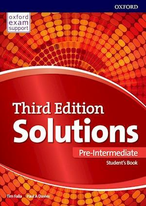 Bog, paperback Solutions Pre-Intermediate Students Book Pack Component