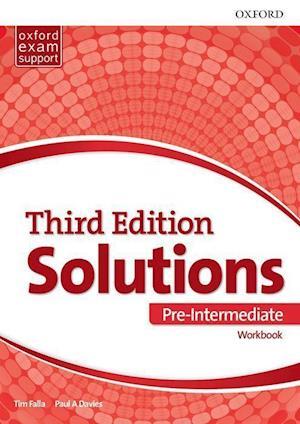 Bog, paperback Solutions Pre-Intermediate Work Book Pack Component