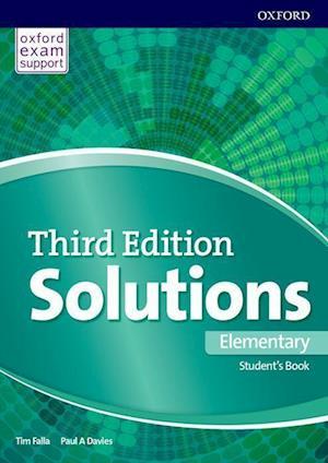 Bog, paperback Solutions Elementary Students Book