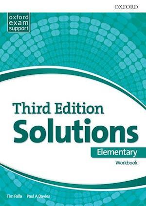 Bog, paperback Solutions Elementary Workbook