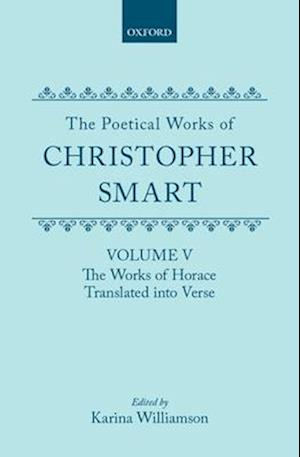 The Poetical Works of Christopher Smart af Williamson, Williamson, Christopher Smart