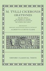 Cicero Orationes af A C Clark, Marcus Tullius Cicero