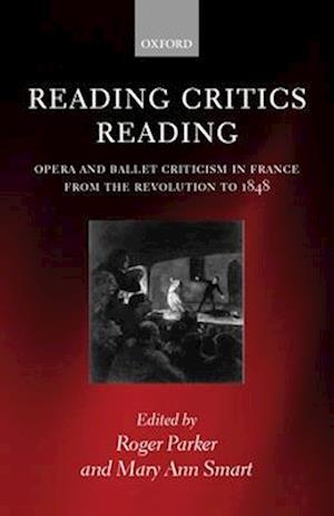 Reading Critics Reading af Roger Parker, Mary Ann Smart