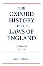 The Oxford History of the Laws of England af John Hudson