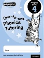 Read Write Inc.: Phonics One-to-One Phonics Tutoring Progress Book 4 Pack of 5 af Ruth Miskin