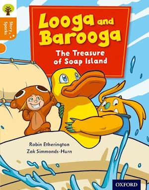 Oxford Reading Tree Story Sparks: Oxford Level 6: Looga and Barooga: The Treasure of Soap Island af Robin Etherington
