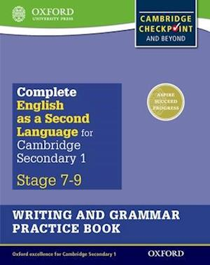 Bog, paperback Complete English as a Second Language for Cambridge Secondary 1 Writing and Grammar Practice Book af Alan Jenkins